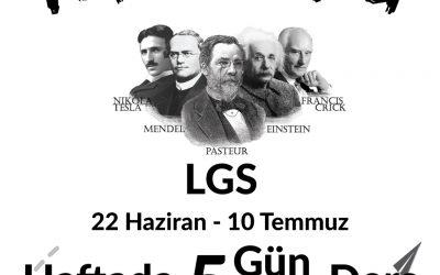 YAZ KURSU – LGS 2020