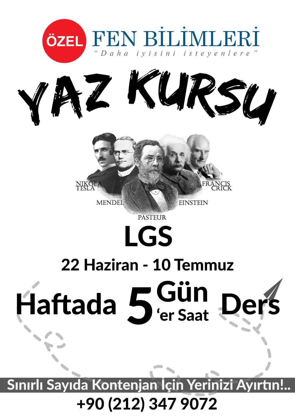 LGS Yaz Kursu 2020